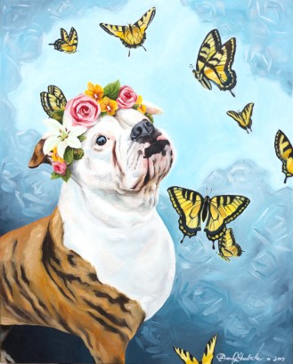 Bella | Custom Oil Painting by Darcy Goedecke